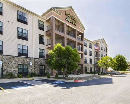 Hotel exterior | MainStay Suites Rogers near I-49