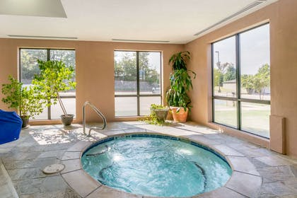 Relax in the hot tub | Comfort Suites Forrest City