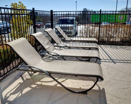Relax on the sundeck | Comfort Inn & Suites Fort Smith I-540