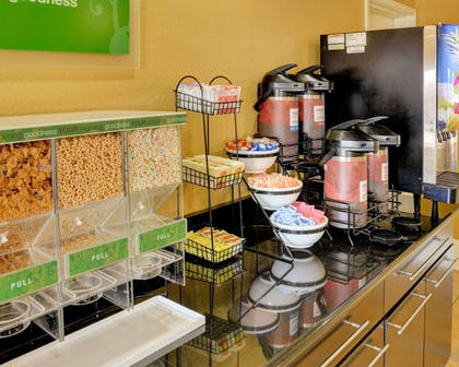 Assorted breakfast items | Comfort Inn & Suites Fort Smith I-540