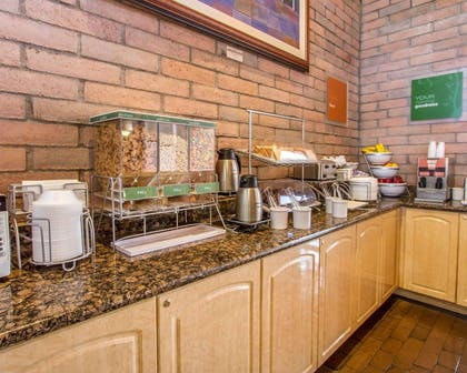 Assorted breakfast items | Comfort Suites at Sabino Canyon