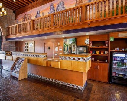 Front desk | Comfort Suites at Sabino Canyon