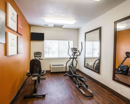 Fitness center with television | Comfort Suites Peoria Sports Complex