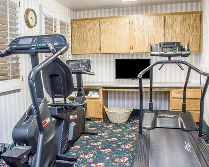 Exercise room with cardio equipment | Quality Inn & Suites Safford - Mt Graham