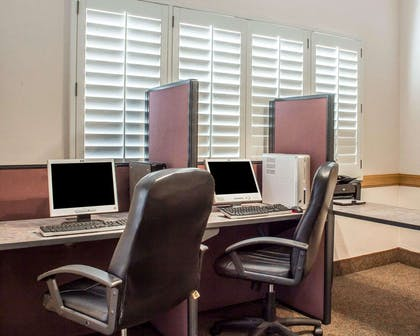 Business center with free wireless Internet access | Quality Inn & Suites Safford - Mt Graham