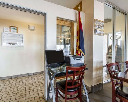 Business center with free wireless Internet access | Rodeway Inn And Suites Flagstaff