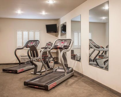 Exercise room with television | Comfort Inn & Suites Thatcher - Safford