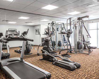 Exercise room | Sleep Inn & Suites Page at Lake Powell