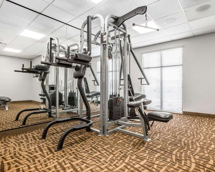 Fitness center | Sleep Inn & Suites Page at Lake Powell