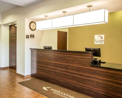 Front desk with friendly staff | Sleep Inn & Suites Page at Lake Powell