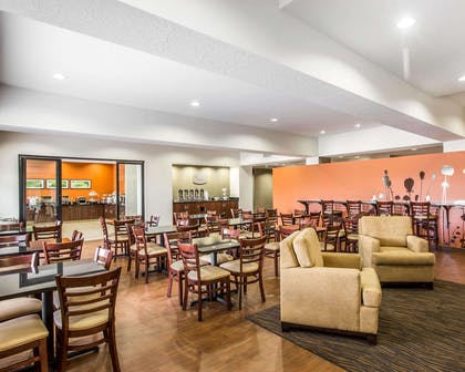 Spacious lobby with sitting area | Sleep Inn & Suites Page at Lake Powell
