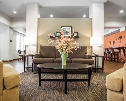 Spacious lobby | Sleep Inn & Suites Page at Lake Powell