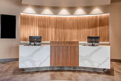 Front desk with friendly staff | Cambria Hotel Phoenix- North Scottsdale