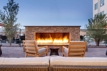 Relax on the hotel patio | Cambria Hotel Phoenix- North Scottsdale