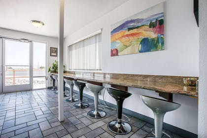 Breakfast area in the lobby | Econo Lodge Inn & Suites near China Lake Naval Station