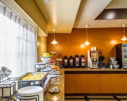 Breakfast counter | Comfort Inn & Suites Oakland