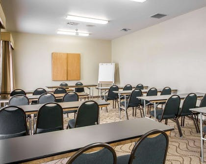 Meeting room with classroom-style setup | Comfort Inn & Suites Oakland