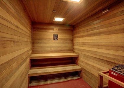 Relax in the sauna | Comfort Inn & Suites Oakland