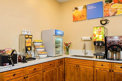 Assorted breakfast items | Comfort Inn Monterey Peninsula Airport