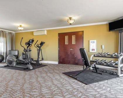 Fitness center   Villa Montes Hotel, an Ascend Hotel Collection Member