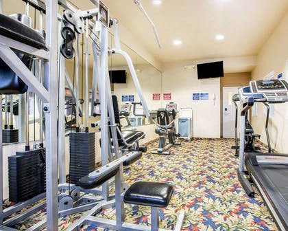 Fitness center with television   Comfort Inn & Suites of Salinas