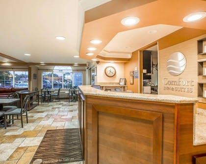 Front desk with friendly staff   Comfort Inn & Suites of Salinas