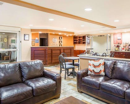 Spacious lobby with sitting area   Comfort Inn & Suites of Salinas