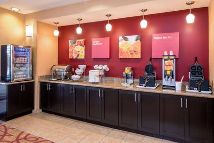 Free breakfast with waffles   Comfort Suites Ontario Convention Center