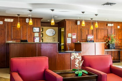 Hotel lobby | Comfort Suites Vacaville
