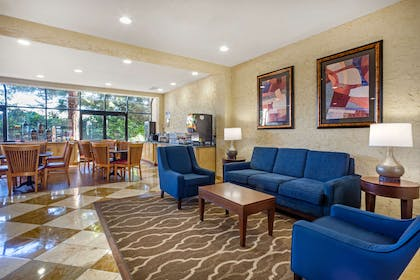 Lobby with sitting area   Comfort Inn and Suites Newark