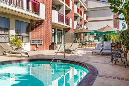 Relax by the pool | Quality Inn & Suites Irvine Spectrum