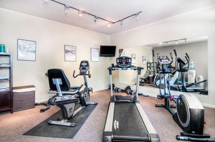 Fitness center | Aggie Inn, an Ascend Hotel Collection Member