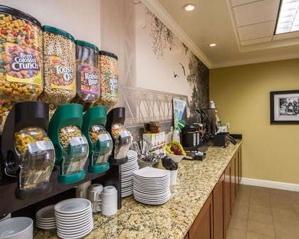 Assorted breakfast items | Hotel Med Park, an Ascend Hotel Collection Member
