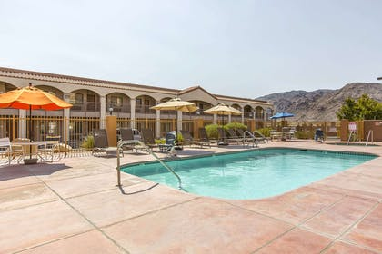 Relax by the pool | Rodeway Inn & Suites 29 Palms Near Joshua Tree National Park