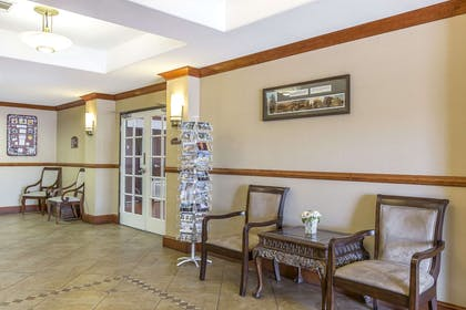 Lobby with sitting area | Rodeway Inn & Suites 29 Palms Near Joshua Tree National Park