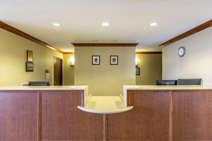 Front desk with friendly staff | Rodeway Inn & Suites 29 Palms Near Joshua Tree National Park