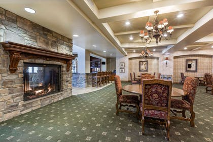 Spacious lobby with sitting area | Bluegreen Vacations Big Bear Village, Ascend Resort Collection