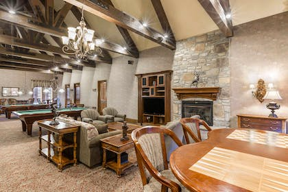 Hotel lounge area | Bluegreen Vacations Big Bear Village, Ascend Resort Collection