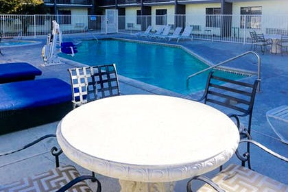 Relax by the pool   Rodeway Inn & Suites Heritage