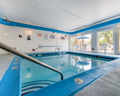 Indoor heated pool with hot tub   Comfort Inn North - Air Force Academy Area