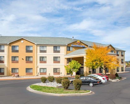 Comfort Inn North - Air Force Academy Area hotel in Colorado Springs CO   Comfort Inn North - Air Force Academy Area