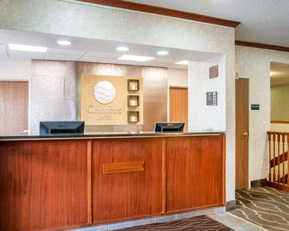 Front desk with friendly staff   Comfort Inn North - Air Force Academy Area