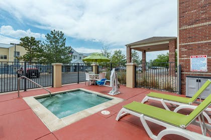 Relax by the pool | Comfort Suites Highlands Ranch Denver Tech Center Area