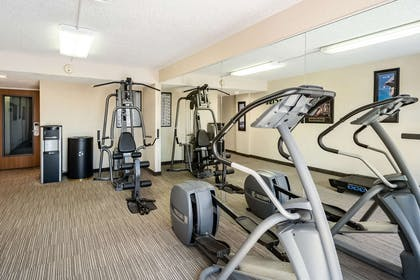 Fitness center   Quality Inn and Suites Garden of the Gods