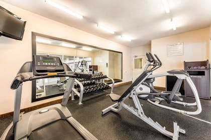 Fitness center | Quality Inn & Suites University Fort Collins