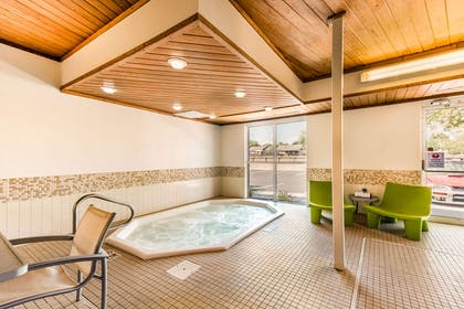 Indoor hot tub | Quality Inn & Suites University Fort Collins