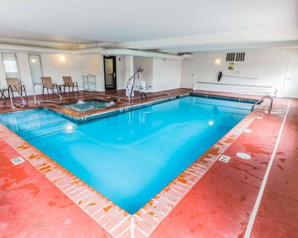 Indoor heated pool with hot tub | Quality Inn And Suites