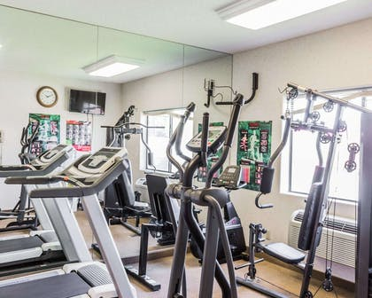 Fitness center with television | Quality Inn And Suites