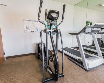 Fitness center with cardio equipment | Quality Inn And Suites