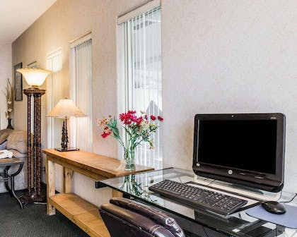 Business center with free wireless Internet access | Quality Inn And Suites
